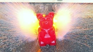 Don't put Sodium Metal in 5lb Gummy Bear