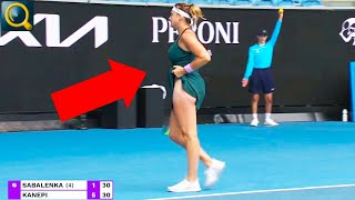 20 EMBARRSSING MOMENTS IN TENNIS HISTORY!
