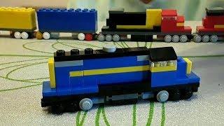 лего поезда 777 и 1206 из фильма Неуправляемый / Unstoppable