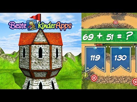 "Mathe Strategie Spiel ""Tower Defense Math"" - Ab 5. Klasse Schüler App"