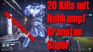 Destiny: Gjallarhorn Wette - 20 Kills ohne Waffen im Schmelztiegel - Titan [German/Deutsch]
