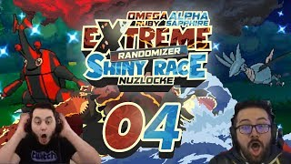 connectYoutube - NEVER BEFORE SEEN TYPING! THE GAME IS WILD Pokemon ORAS Extreme Randomizer Shiny Race Nuzlocke Ep 04