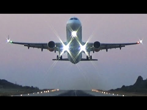 1 Hour of Planespotting at Skiathos! 16 Low Landings and 13 Takeoffs JETBLAST with ATC Comms!