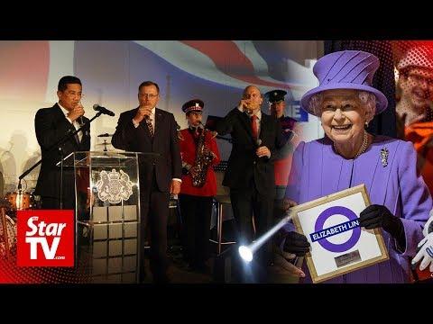 Malaysians celebrate Queen Elizabeth II's 93rd birtay in KL