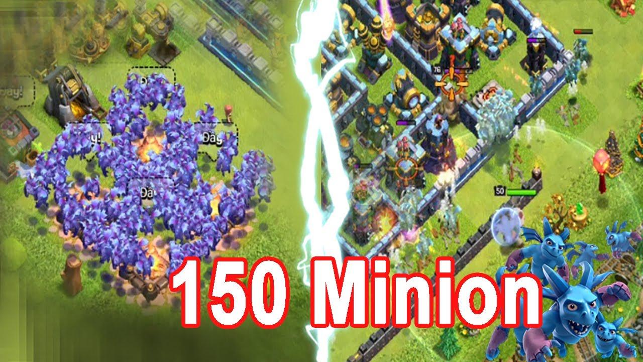 Chay Minion Lever Max 150 Minion Ra Trận | NMT Gaming