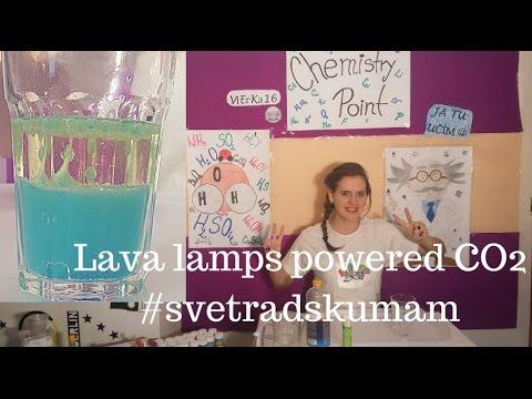 Lávová lampa s chemickým pohonom #svetradskumam