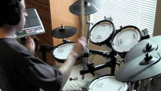 Spock's Beard - Made Alive/Overture - Drum Cover (Tony Parsons)