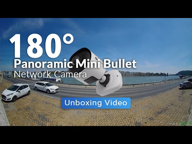 Milesight 180⁰ Panoramic Mini Bullet Network Camera - Unboxing Video