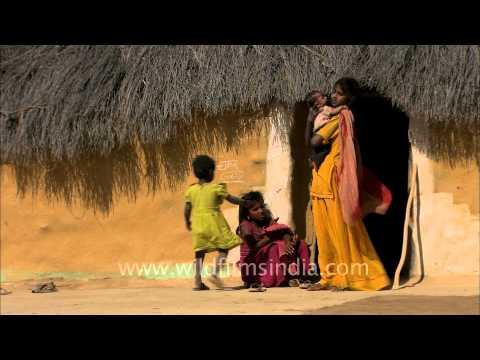 Deserted Kuldhara village in Rajasthan