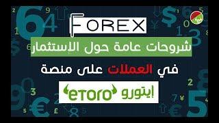 forex شرح | شروحات ونصائح جد مهمة حول الإستثمار في العملات أو الفوركس للربح من ايتورو