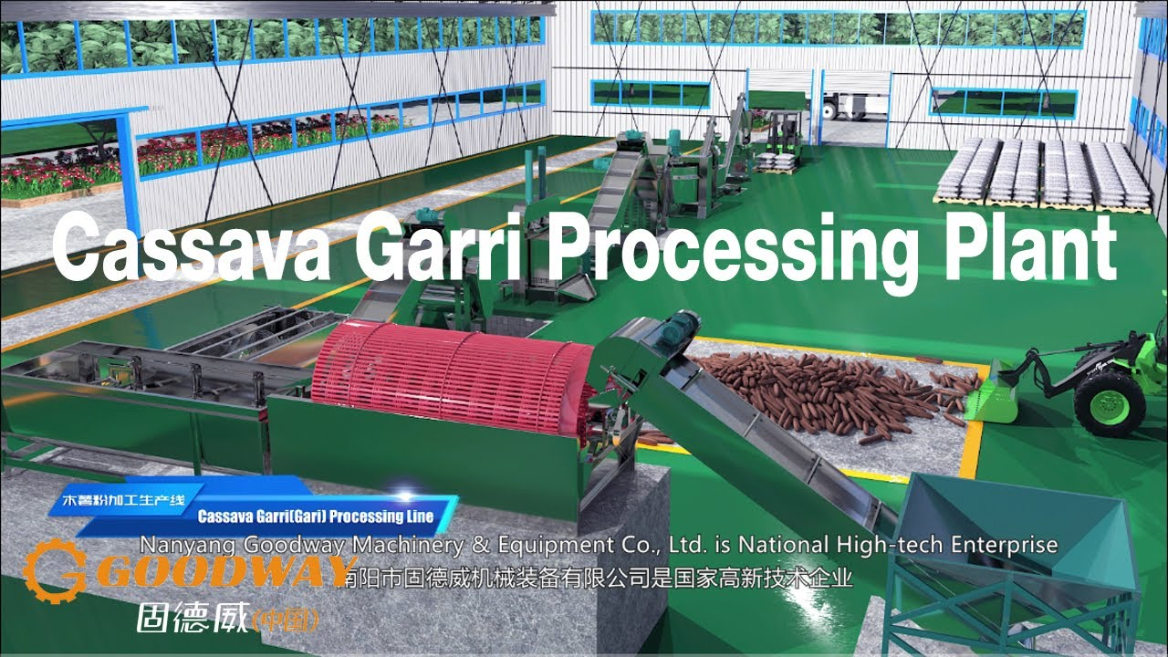 Garri Processing Plant Gari Processing Machine