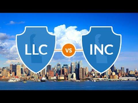Регистрация компании в США LLC Vs Inc. В каком штате лучше открывать компанию