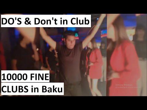 Club life in Baku | Do's and don't in Club | Azerbaijan Vlogs |Waqar Hussain