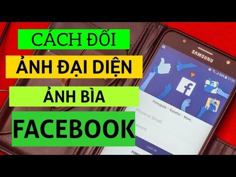 Cách đổi ảnh đại diện facebook trên điện thoại