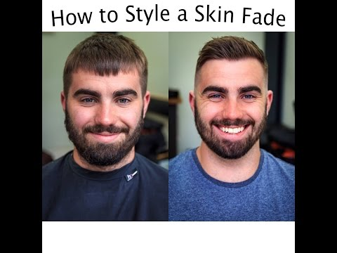 SKIN FADE with short texture and disconnection.. 'How to'   (14)