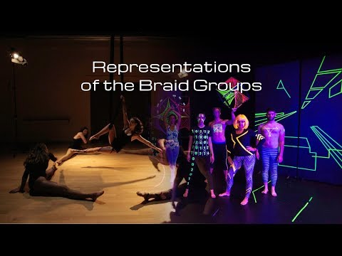 Representations of the Braid Groups, Dance your PhD 2017