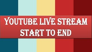 How to  Live Stream on Youtube on Laptop|Mobile phone ( Hindi)(This tutorial explains all the 3 methods to go live on Youtube. You will also get to learn the factors that will help to enhance the quality of live stream on Youtube., 2016-11-07T12:46:35.000Z)