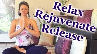 Repeat youtube video Guided Meditation Deep Relaxation Re-energize Relaxing Music Jen Hilman ASMR