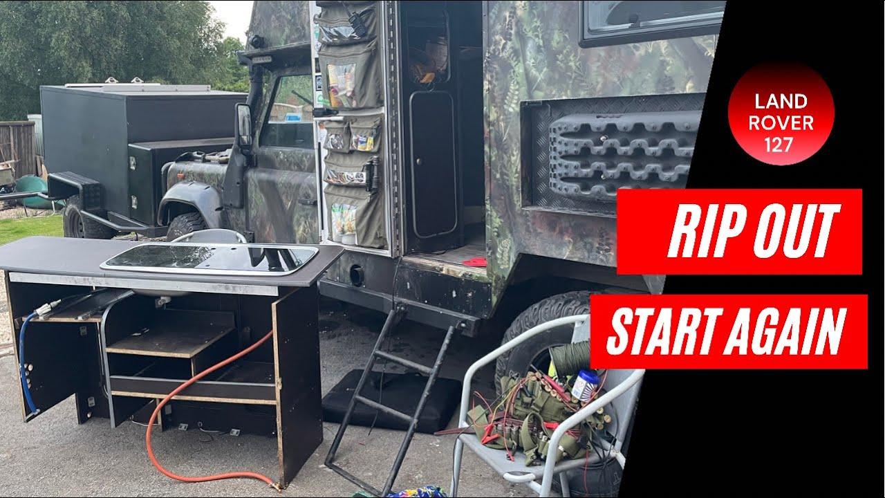 new customer camper van units