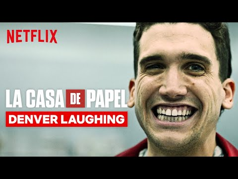 Every Denver Laugh in La Casa de Papel | Netflix