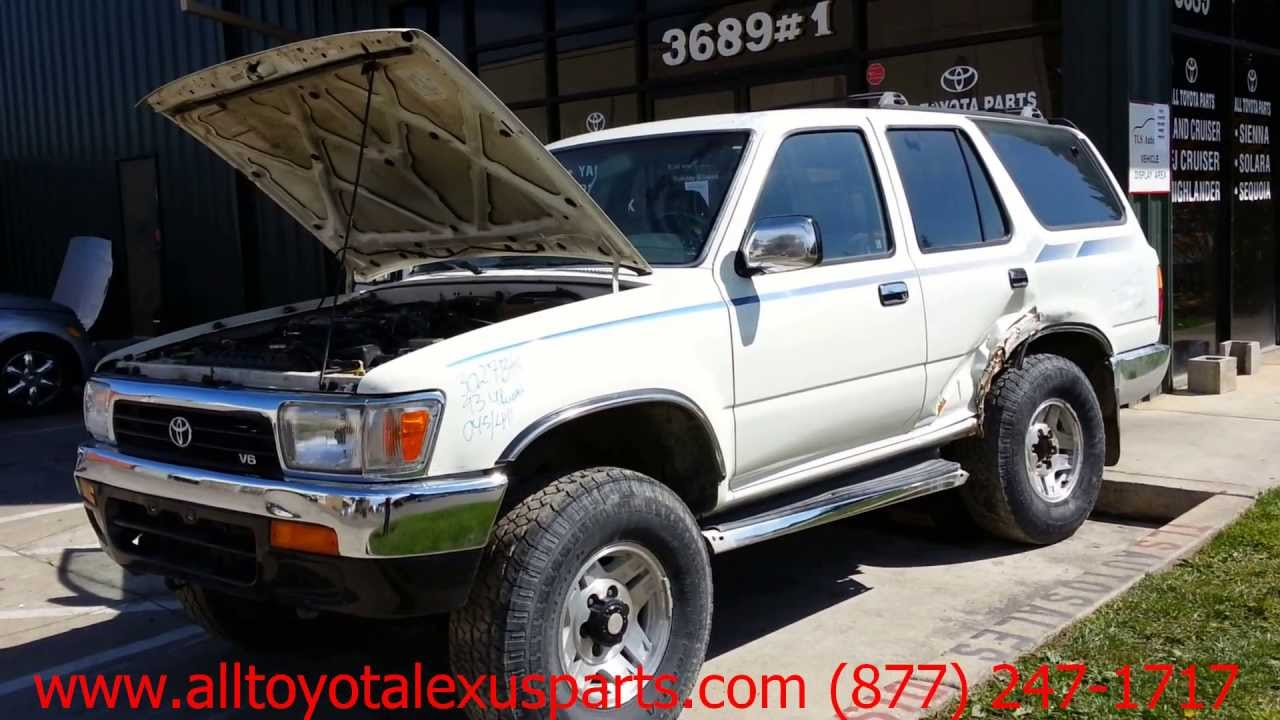 4runner 1994 toyota 4runner parts 1994 toyota 1994 toyota toyota 4 runner 1993 car for parts youtube pooptronica Gallery
