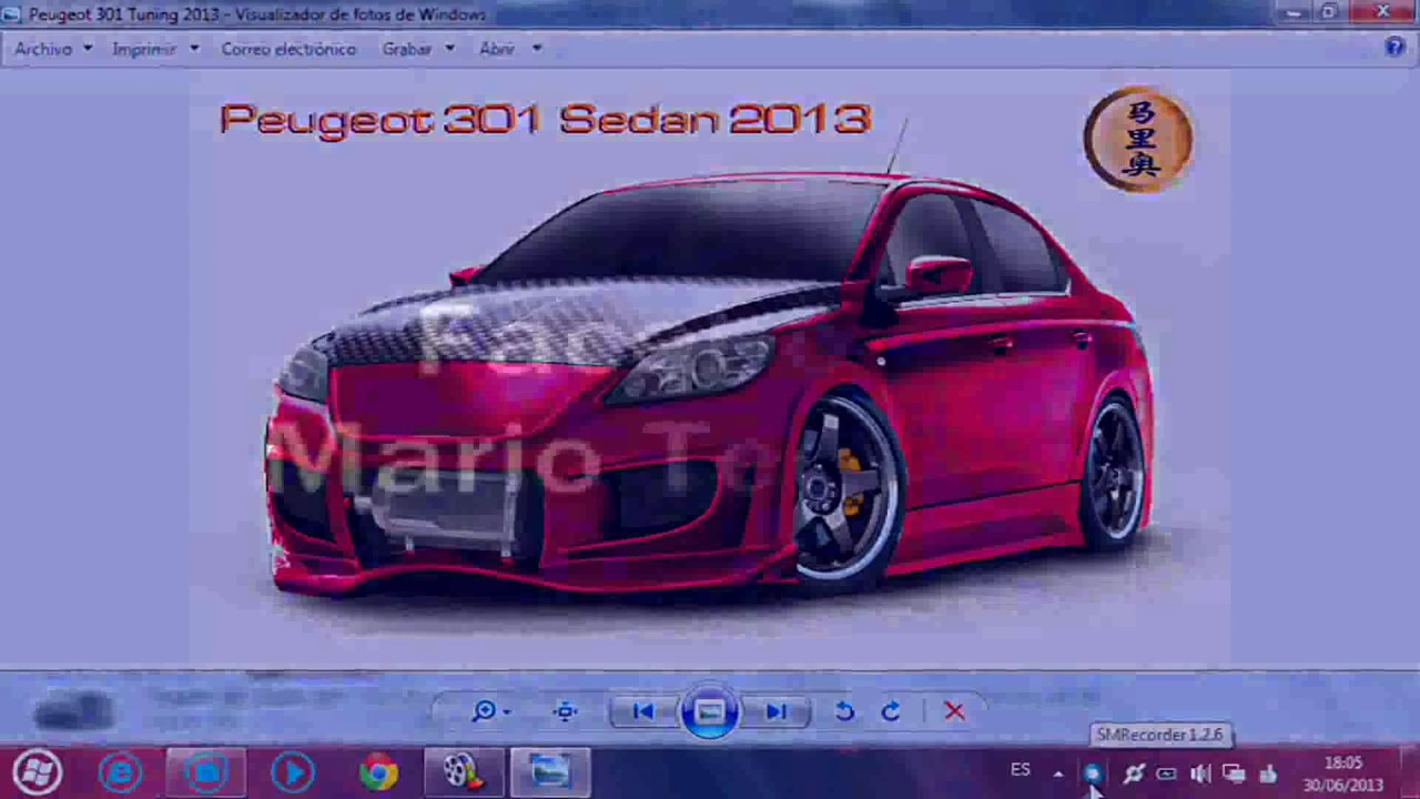 tuning virtual 2013-peugeot 301 sedan - youtube