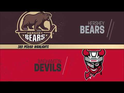 Hershey Bears 6, Binghamton Devils 3 - February 26, 2021