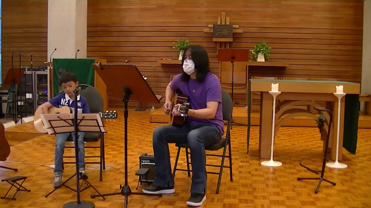 "Haruto plays ""1 2 3"" in the TAGA Student Recital"
