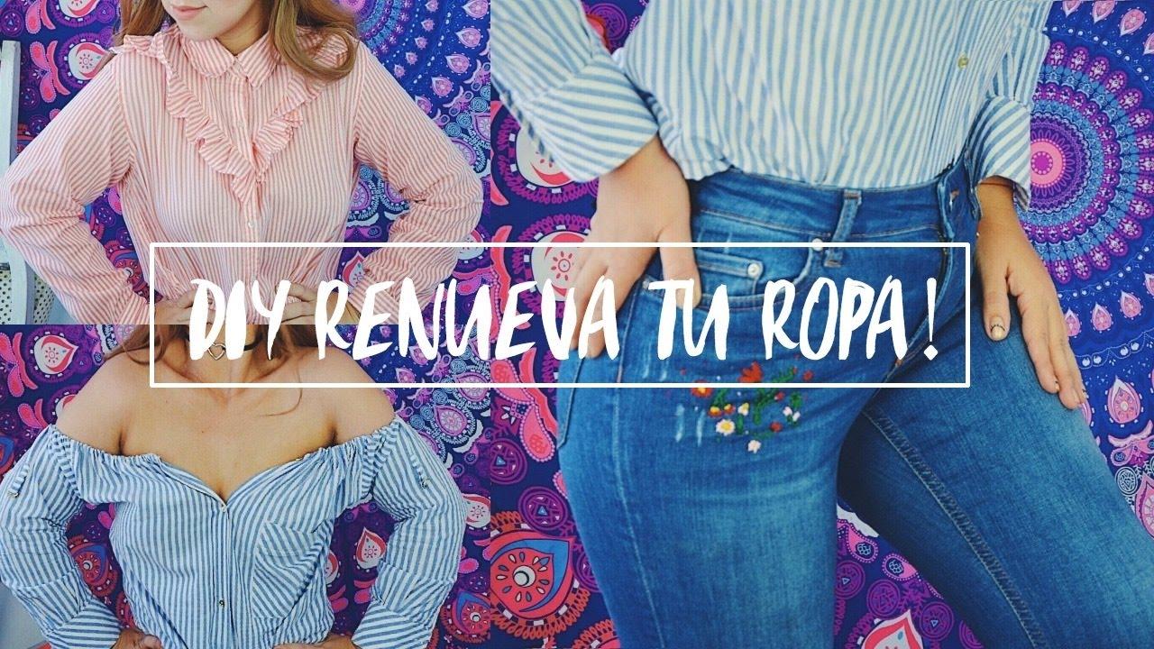 423bb82bb2 DIY-RECICLA TU ROPA VIEJA (jeans bordados