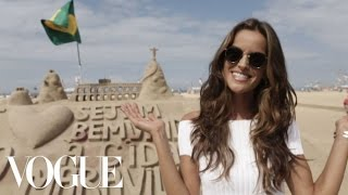 Victoria's Secret Model Izabel Goulart's Rio Walking Tour | Vogue
