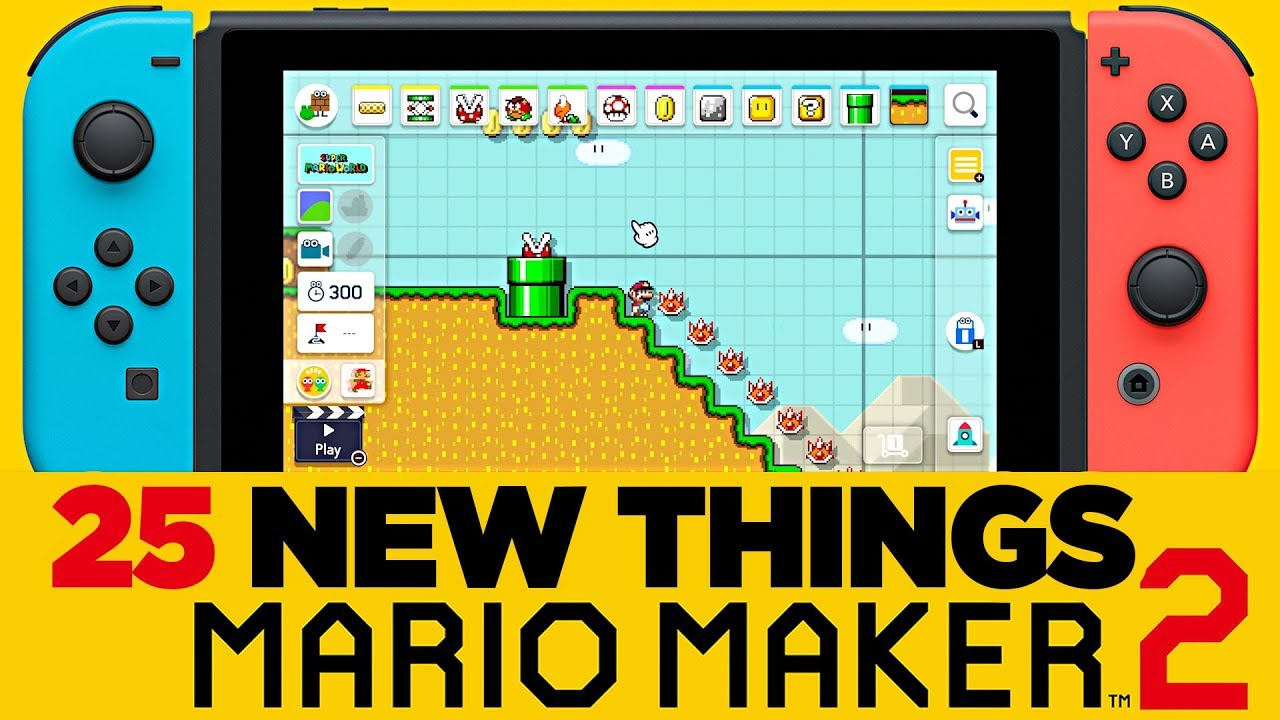25 New Things in Super Mario Maker 2 - New Features & Analysis