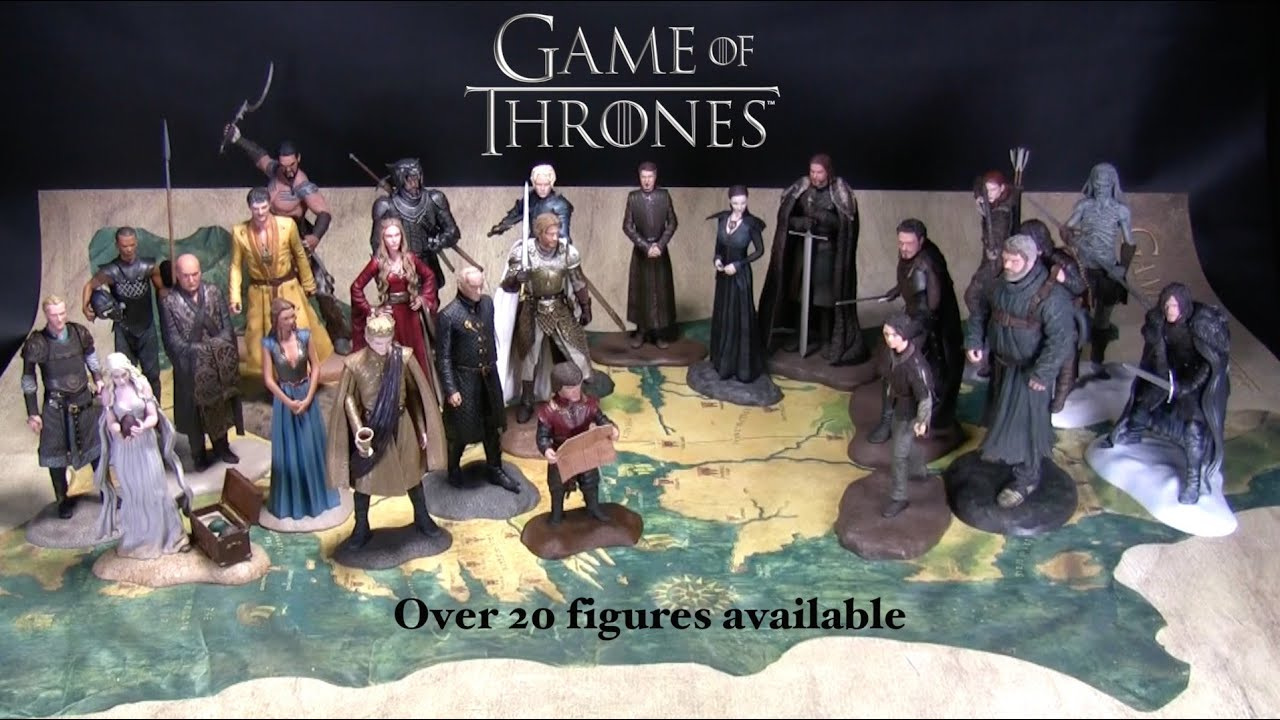 game of thrones figures available now youtube. Black Bedroom Furniture Sets. Home Design Ideas