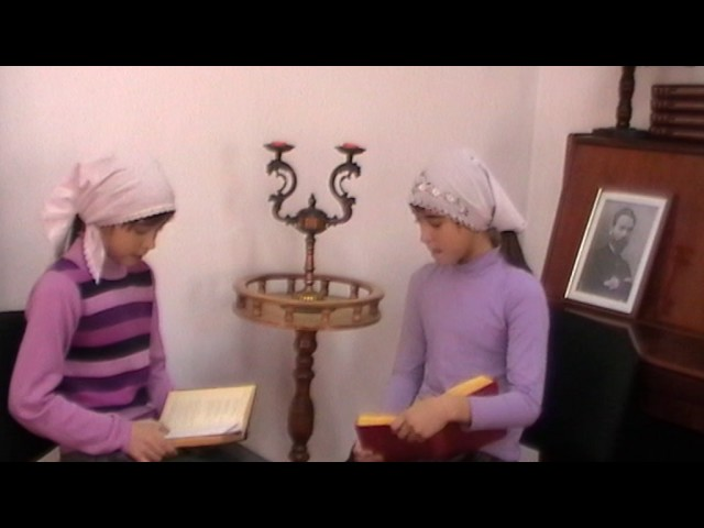 Изображение предпросмотра прочтения – Ольга и АлександраСамсоновы читает произведение «Творчество» В.Я.Брюсова