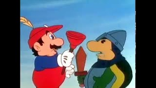 Super Mario Brothers Super Show - HOODED ROBIN AND HIS MARIO MEN | Super Mario Bros | Cartoon Super