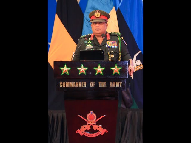 General Shavendra Silva ,CDS & Commander of the Army Voice cut @ AHQ - 06.01.2021