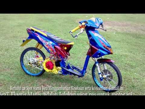 Modifikasi Honda Beat Keren, Manis Eksotis