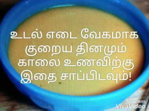 Breakfast Recipe for Weight Loss Tamil weight loss diet ...