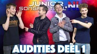 #1 EERSTE AUDITIEDAG 2018 - DEEL 1 | JUNIORSONGFESTIVAL.NL 2018🇳🇱