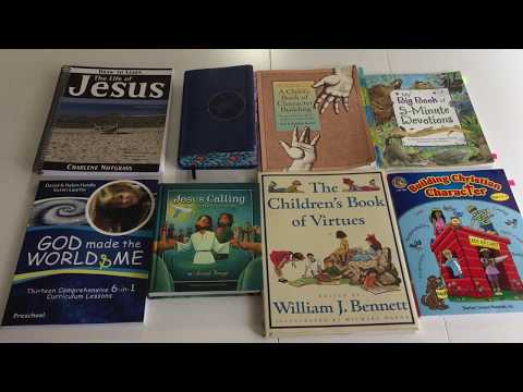 2017-2018 Homeschool curriculum choices for Bible Studies