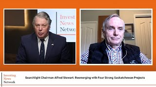 Searchlight Chairman Alfred Stewart: Reemerging with Four Strong Saskatchewan Projects