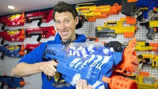 NERF NEMESIS GIVEAWAY!! #ASKAARON (Nerf Warfare? Gun Game 8.0? Zombies 3.0?)