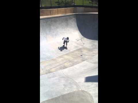In the CV skate park bowel