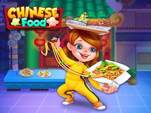 Chinese Food Lunar New Year! Cooking Games,  Chinese Restaurants Games For Children