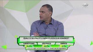 Comentaristas dão palpites para Corinthians x São Paulo
