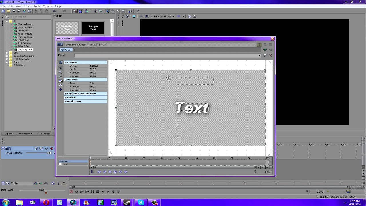 Sony Vegas Tutorials - Search for Sony Vegas Tutorials on ...