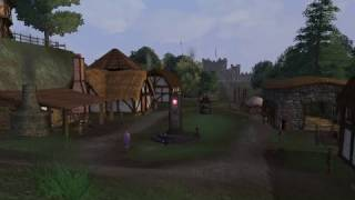 1 Hour of Medieval Village Sounds | Sleep, Relax, Study