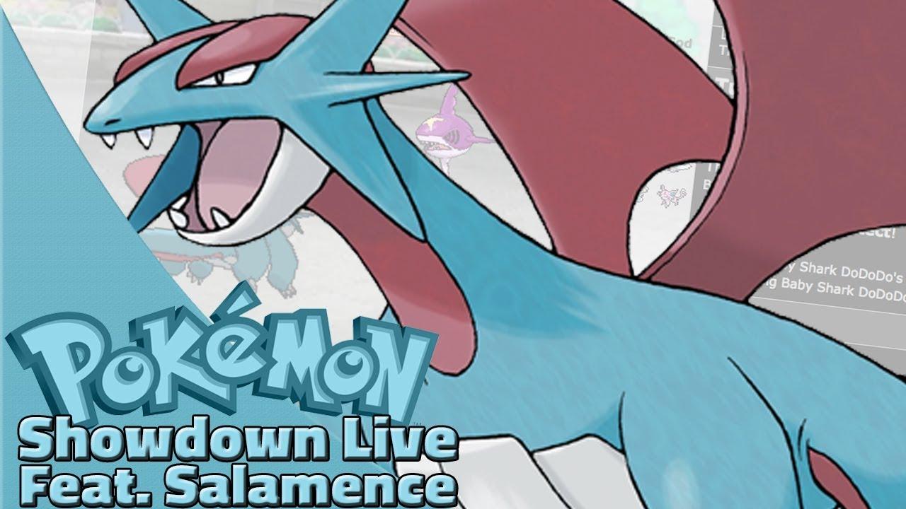 salamence live