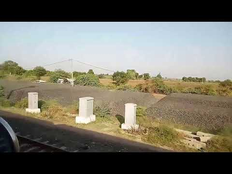 Single Line Crossings | Saurashtra Mail vs Rajkot Coimbatore express