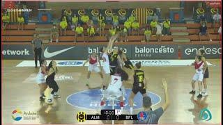 U18Fem - 3/4 Cpto.España: BASKET ALMEDA vs BF LEÓN.- Junior Fem. FEB-Huelva 2021