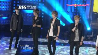 HD | 111101 | TEEN TOP - The Back of My Hand Brushes Against Yours | Live Performance